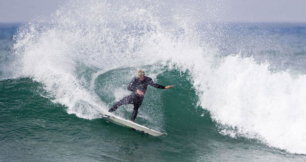 John Florence, showing his prowess at Lowers. Photo: ASP / Rowland