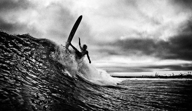 Bringing it back. Photo: Jeff Farsai