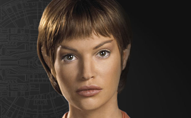 T'Pol: Face it, aliens can be super hot.