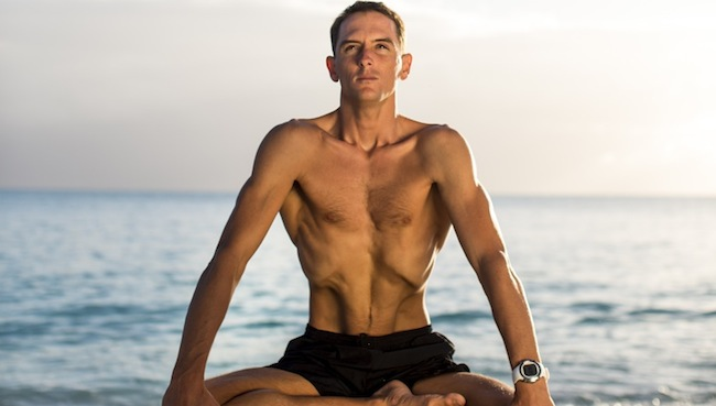 William Trubridge is a world record holding freediver. Photo: Zooom Productions