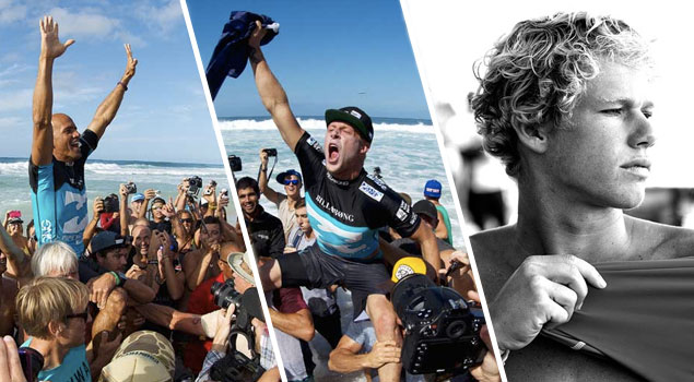 A lot has been said about an amazing Pipeline contest. I watched it all in awe of so much perfection: It couldn't have been written any better. What I have been obsessing about lately is the World Title contenders and what could happen in 2014.
