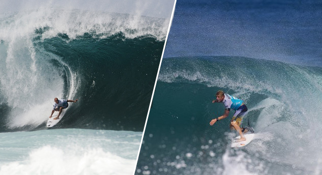 Kelly Slater could square off against Mick Fanning to decide the 2013 ASP World Champion at Pipeline.