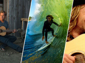 The ultimatum of a lifetime: music vs. surfing? Tom Curren, Rob Machado, and Jon Foreman weigh in. Center Photo: Anthony Ghiglia