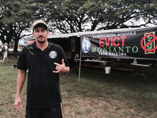 GMO fighter Dustin Barca takes a stand