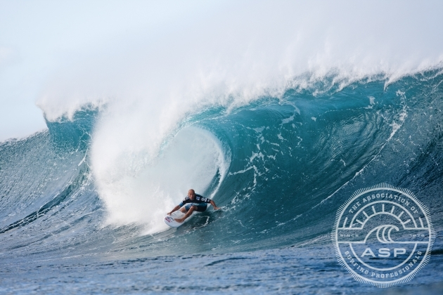 Kelly Slater. Ready to make the most of a small opportunity. Photo: ASP
