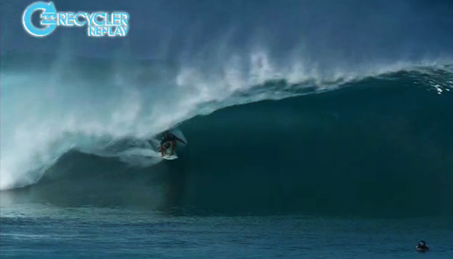 Yadin Nicol, doing his best to qualify for the 2014 ASP World Tour. His loss against Mick eliminated that possibility.
