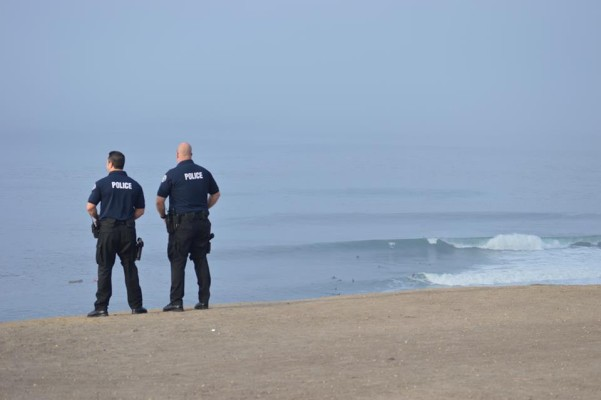Police at Lunada Bay