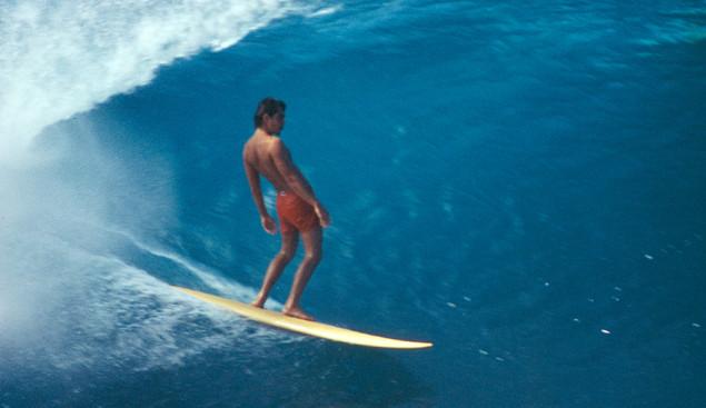 Gerry Lopez Surfs Pipe