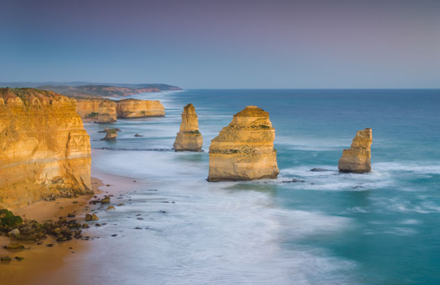 The landmark Twelve Apostles in Victoria, Australia, home to the heat wave of the century. Photo: Shutterstock