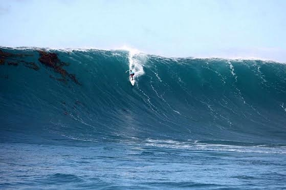 """""""The big wave community is one built on respect and a collective admiration of the ocean"""" said BWWT Founder Gary Linden. Photo: BWWT"""