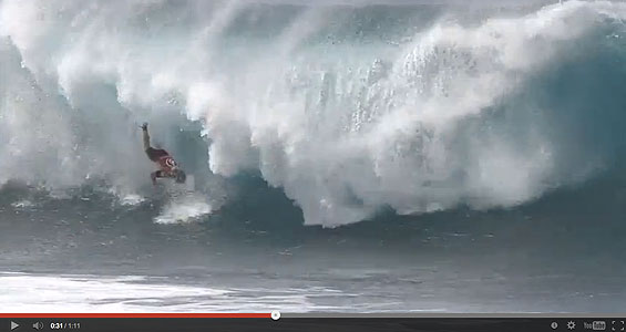 Pipe is truly terrifying. Grown men openly weep while urine trickles down their legs, and their wives shriek and faint on to the sand. To satiate your lust for blood, here are the best wipeouts from the Volcom Pipe Pro.