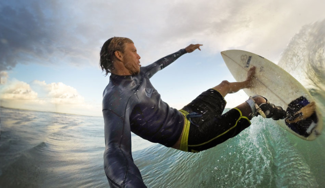 """His version of a """"selfie."""" Photo: Mike Coots 