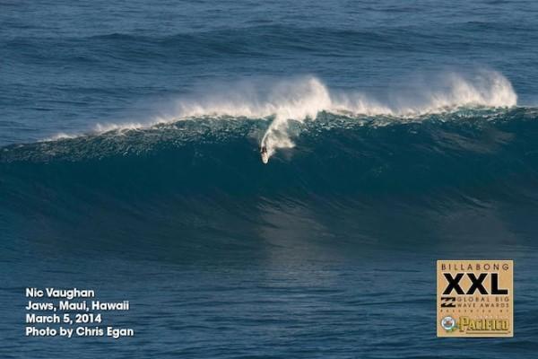 Nic At Jaws   Image: Chris Egan