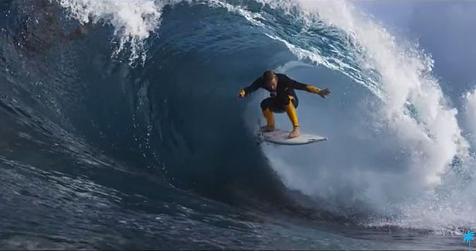 If there is one that you watch in your whole life, it should be Josh Kerr's wave at the 30 second mark. Watch it, rewatch it, the watch it again. You won't regret it. And oh yeah, the rest of it will blow the top of your head off, too.