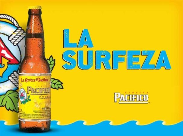 Pacifico isn't just cerveza, it's surfeza. Photo:  Jack Liebl