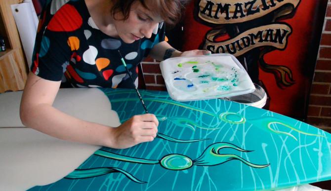 """Fieldey at work. Photo: <a href=""""http://www.fieldey.com/"""">Fieldey</a>"""