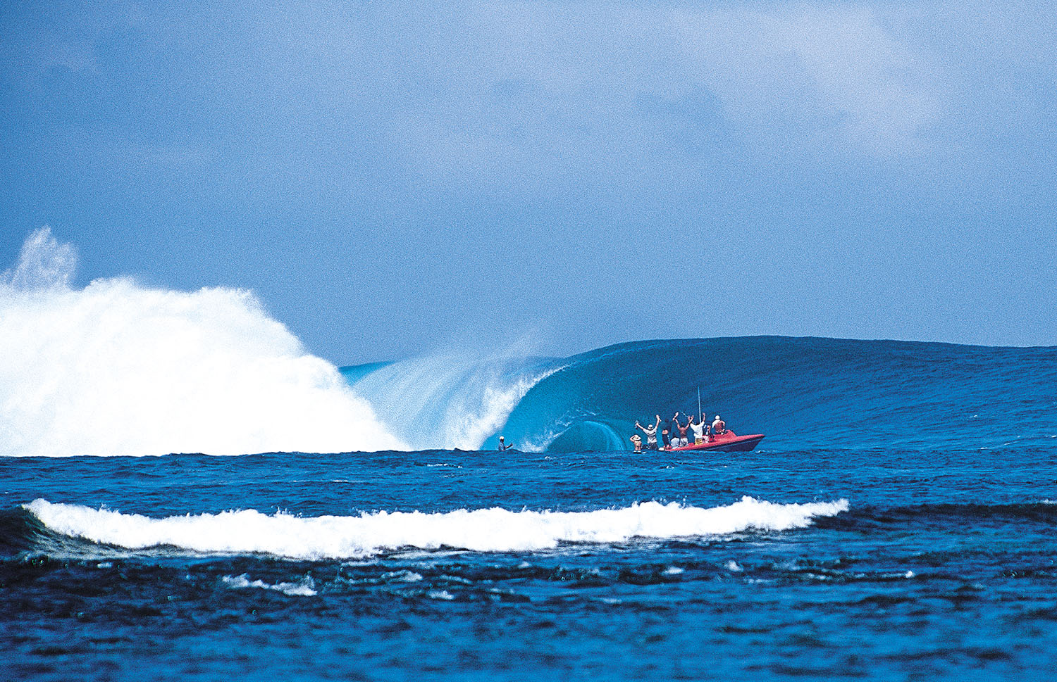 Yup. This is Laird's Millennium Wave from a different angle. Photo: Sean Davey