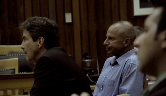 Anthony Ruffo in Court