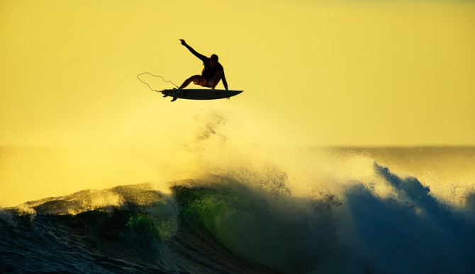 "Leashes are a large part of our ability to push the limits. Fail, and it's a simple tug to collect yourself. Photo: <a href=""http://www.natesmithphoto.com/"" target=""_blank"" title=""Nate Smith Surf Photos"">Nate Smith</a>"