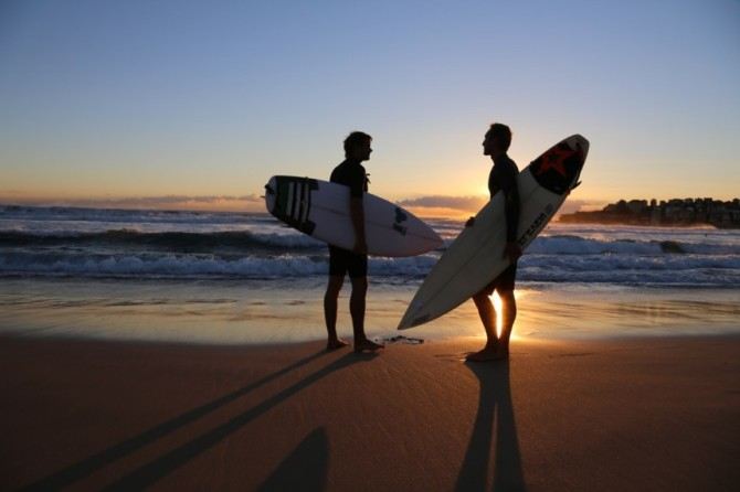 Out In The Lineup plays a significant role in killing homosexuality in surfing.  Photo: Out In The Lineup
