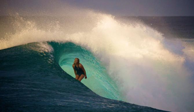 Smile, you're surfing. Photo:  Richard Kotch
