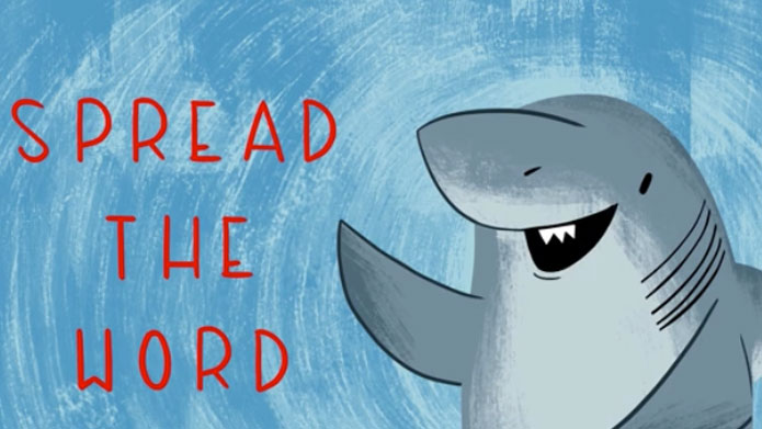 If it takes a cute little kid and a few cute drawings to sharks a little more relatable then maybe we'll stop trying to kill all of them. That would be good!