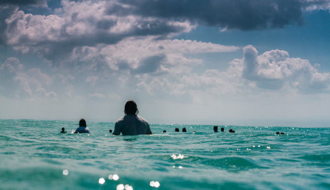 There is a lot to learn from the lineup. Photo: Hayden O'Neill