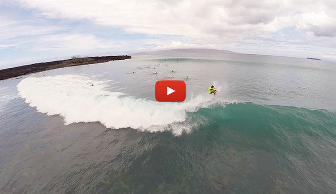 Summer is here, sun is shining and the weather is sweet in Maui. This is the first south swell in Hawaii filmed by my friend in a surf spot never seen from the drone's view.