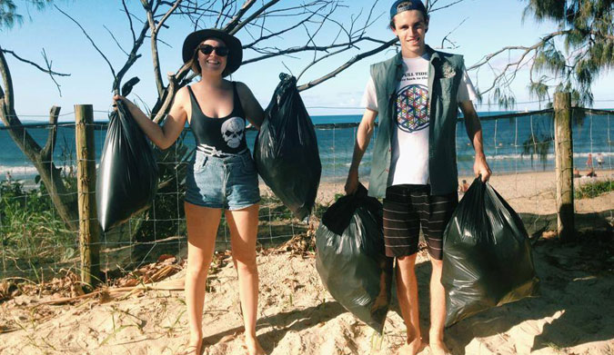 Next time you take a walk on the beach, take a look at how much garbage you see. There will probably be a lot. That's not a good thing.