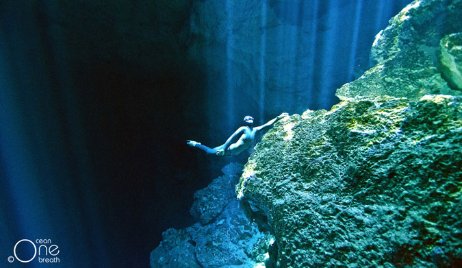Freediving could become a whole different ball game. Photo: One Ocean One Breath