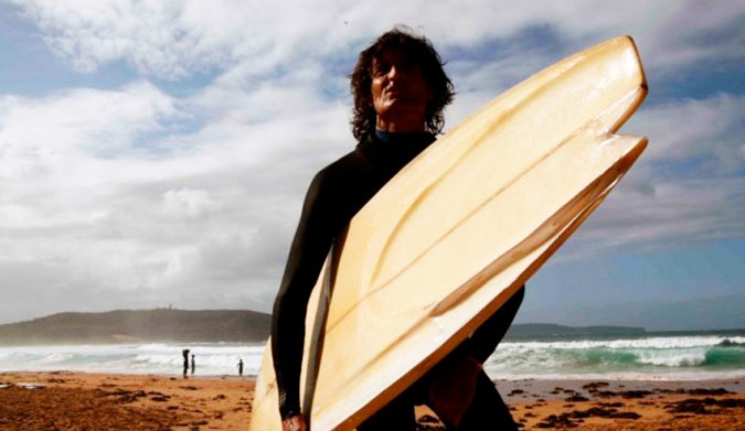 Derek Hynd years after his accident. Didn't hurt his surfing a bit. Photo: Jamie Brisick