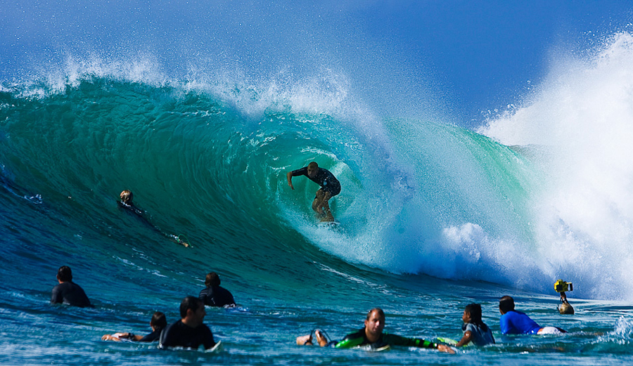 This is your brain on surf. Photo: Andrew Shield