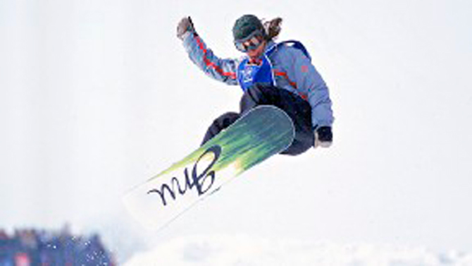 Christy at her first X Games. Photo: ESPN