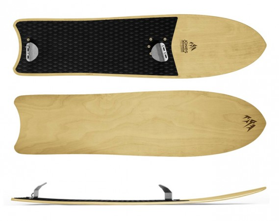 Mountain Surfer by Jones Snowboards. Photo: Jones Snowboards