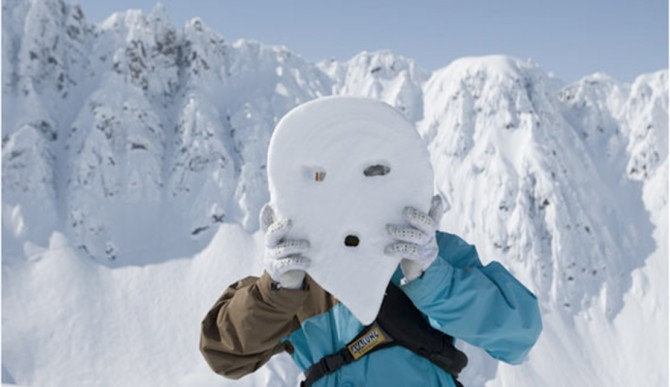 Making alien faces in Haines AK. Shot in 2008. Photo:  JP Auclair