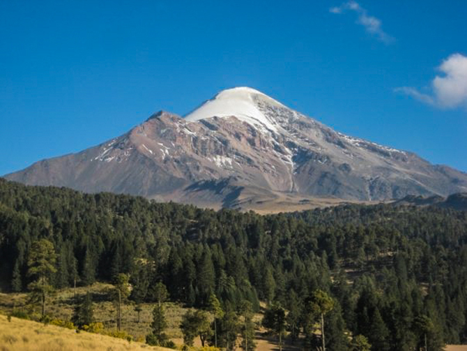 El Pico de Orizaba, a stratovolcano towering above central Mexico. Photo: Baby James