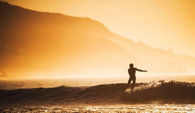 Early morning Malibu slides.