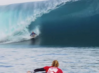 Let's be honest: if the JJF/Kelly Slater heat at Teahupoo doesn't win it, the contest is rigged.