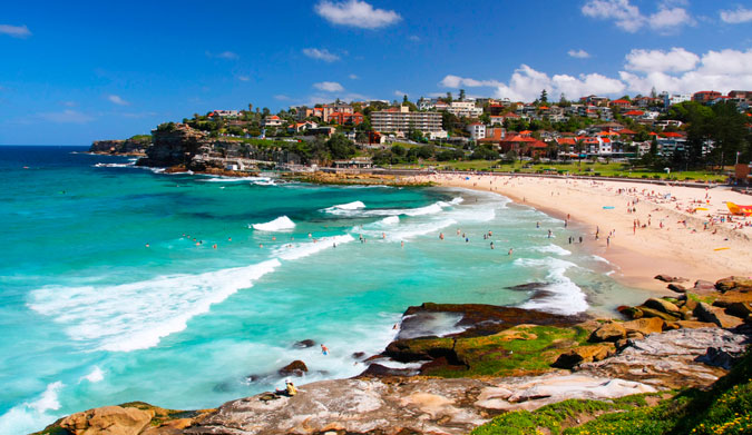 Bronte Beach in Sydney, Australia. Photo: Shutterstock