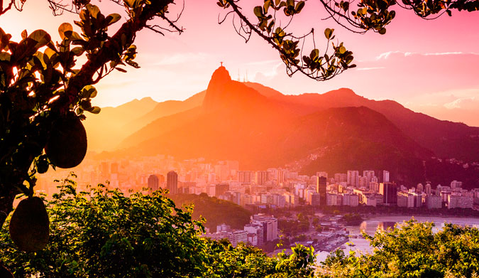Christ the Redeemer watches over Rio de Janeiro. Photo: Shutterstock