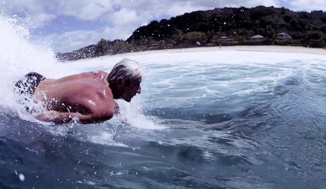 He's not only one of the greatest bodysurfers ever, but he's an all around waterman–a term that is thrown around far too frequently.
