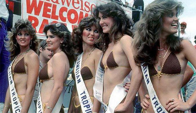 Hawaiian Tropic promo girls. Photo: Hawaiian Tropic