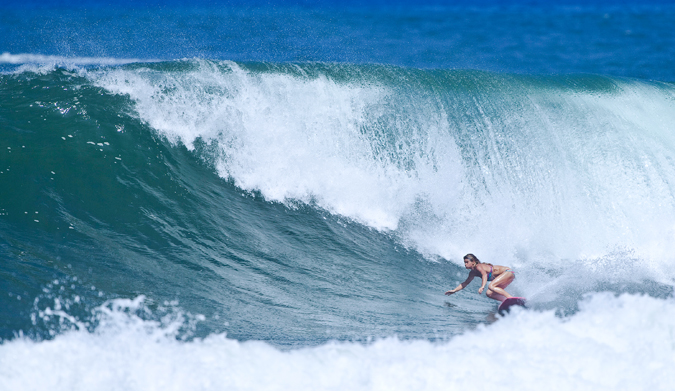 Haleiwa bottom turn