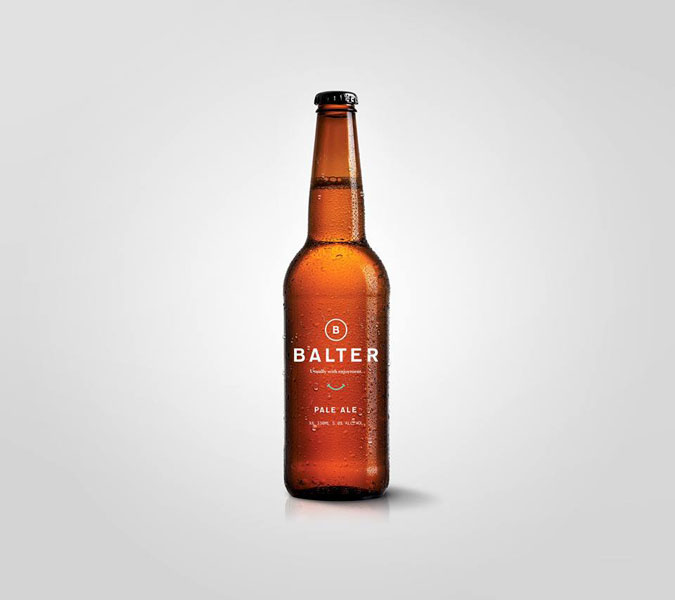 Balter. Usually with enjoyment.