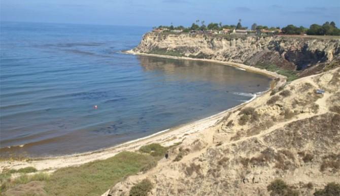 One of the most welcoming breaks in Los Angeles: Lunada Bay. Photo: Nicholas Watt