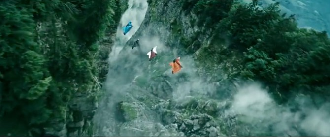 Wingsuit Sequence Point Break