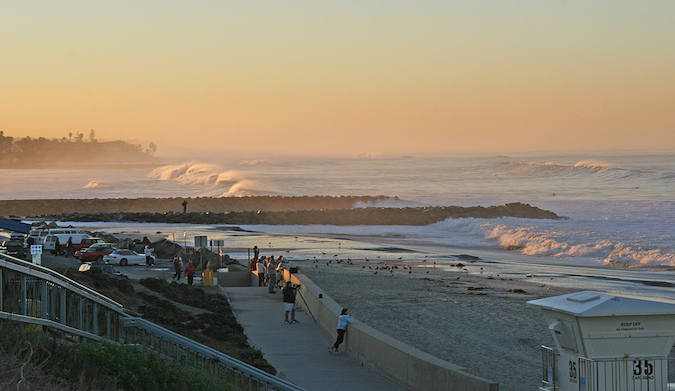 Beautiful morning at Tamarack State Beach in San Diego. Photo: Flickr