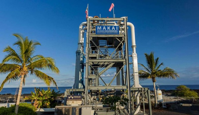 This new energy plant built by Makai Engineering can power as many as 120 homes on its own per year.