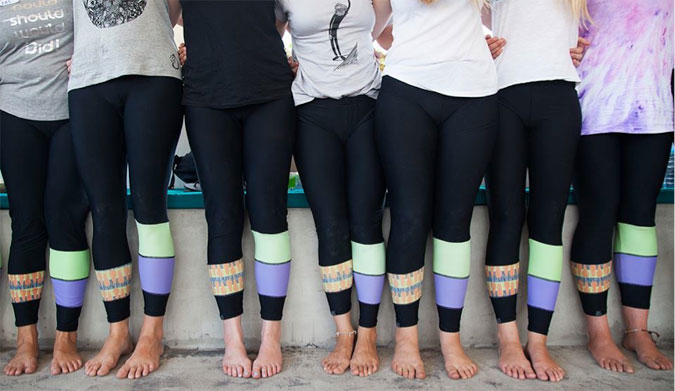 Leggings are just as stylish as legs.