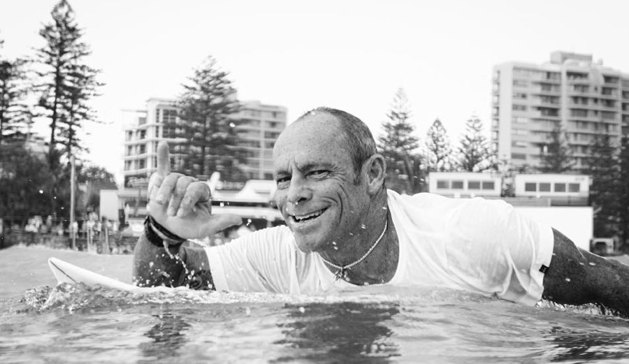 Tom Carroll, leader of one of the most important movements in surfing history.